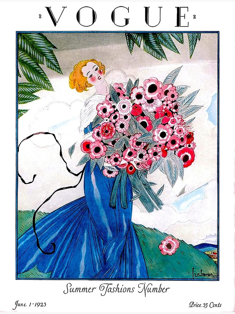 VOGUE : Vintage Spring 1923 Magazine Advertising Print by posterbobs
