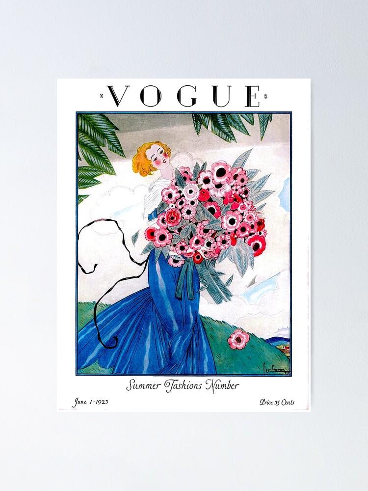 Alternate view of VOGUE : Vintage Spring 1923 Magazine Advertising Print Poster
