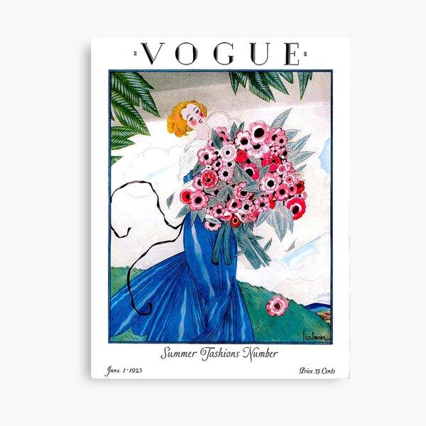 VOGUE: Vintage Spring 1923 Magazine Werbedruck Leinwanddruck