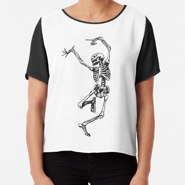 Dance With Death Chiffon Top