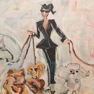 Dog Walker by melchormoore