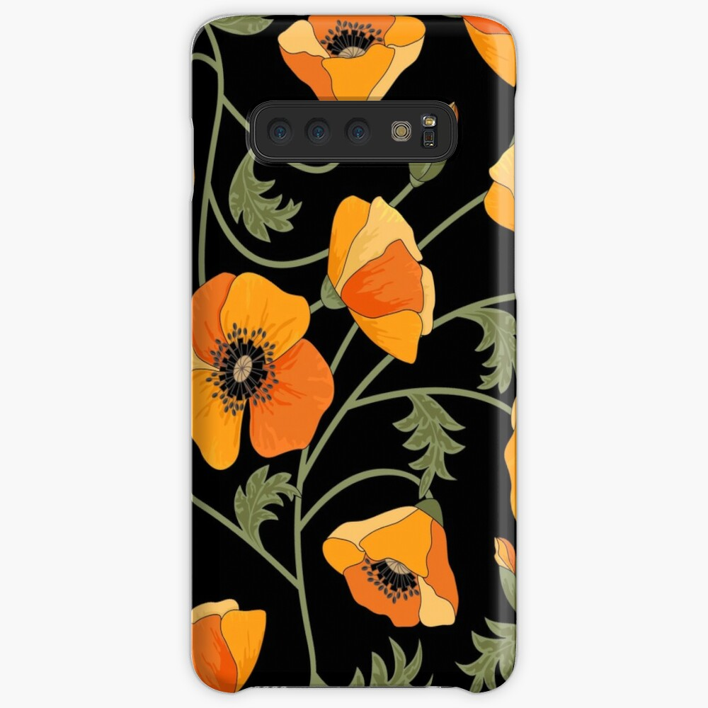 California Poppies Case & Skin for Samsung Galaxy