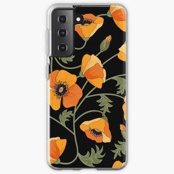 California Poppies Samsung Galaxy Soft Case