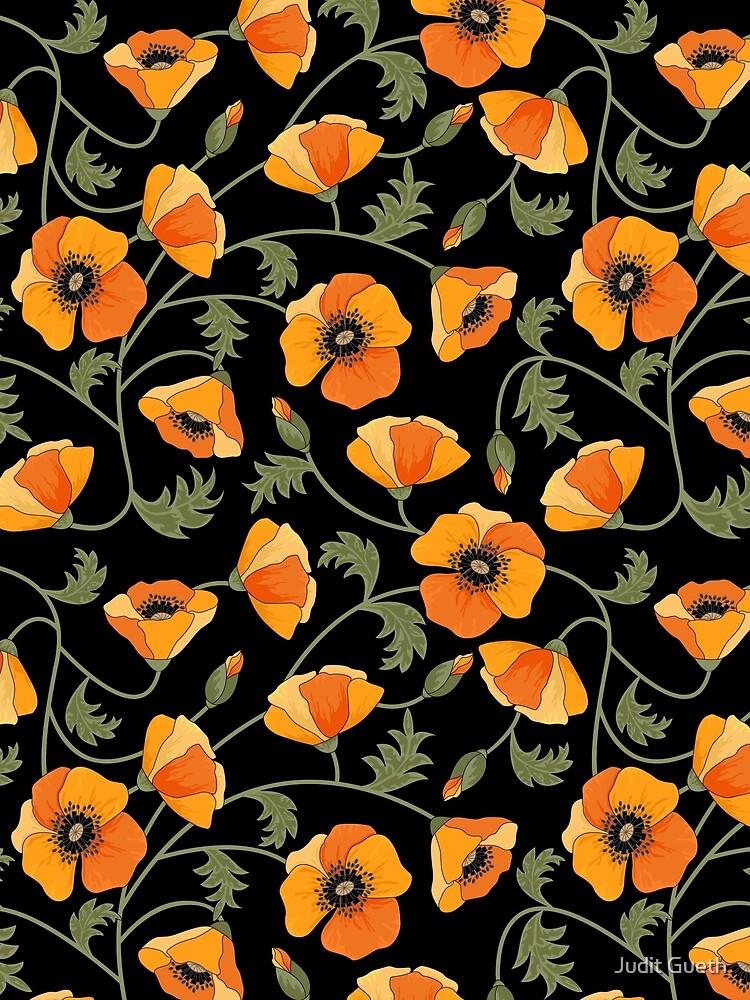 California Poppies by juditgueth