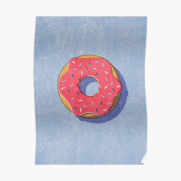 FAST FOOD / Donut Poster