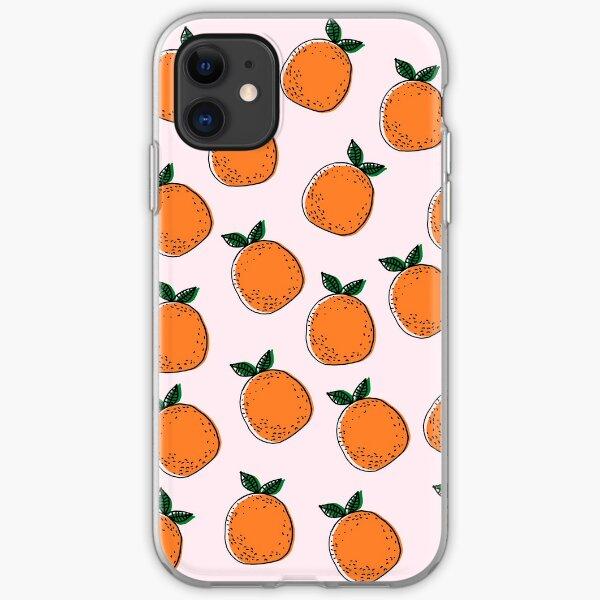 Cute Oranges iPhone Soft Case