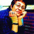 My Digital Self Portrait by Madalena Lobao-Tello