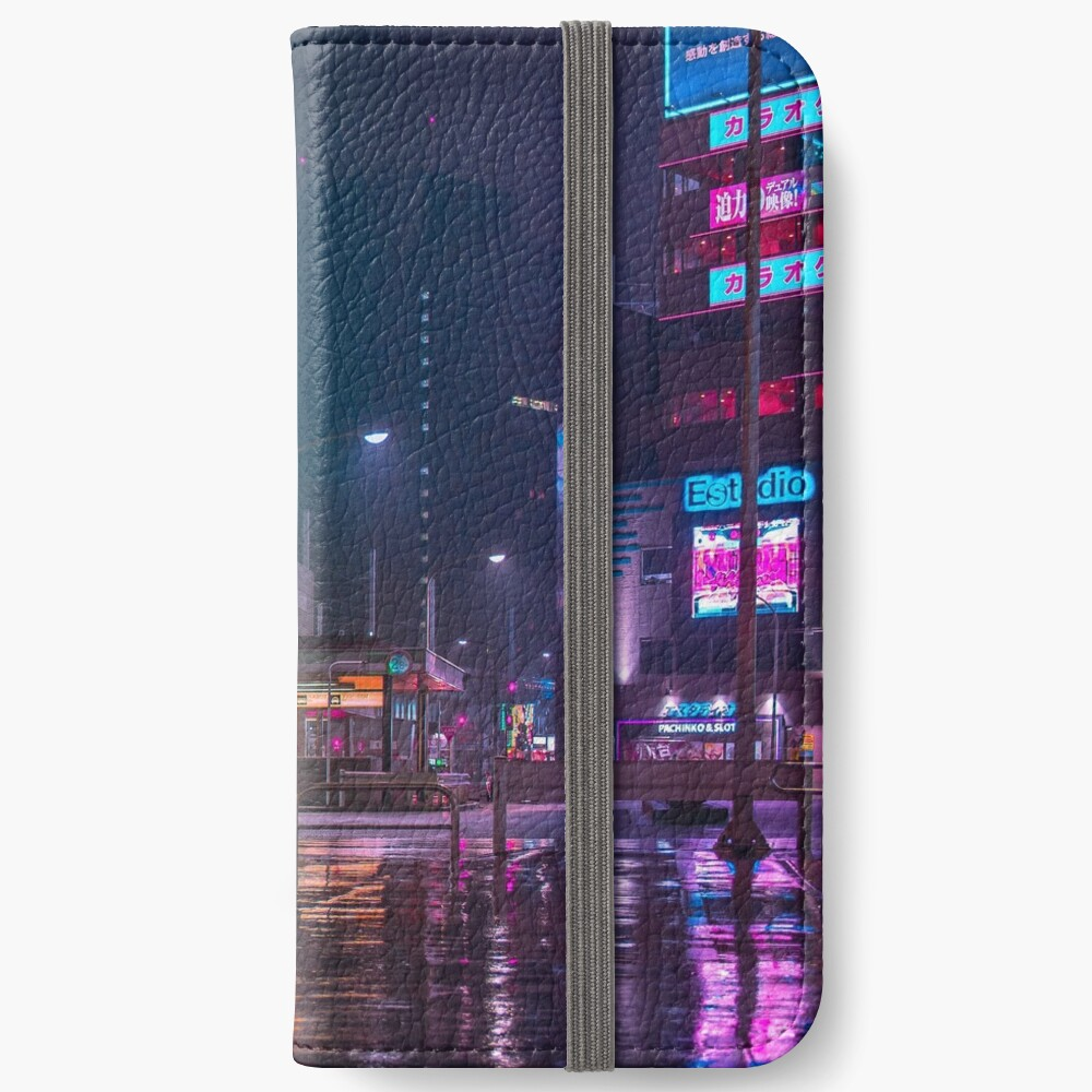Only the rain iPhone Wallet