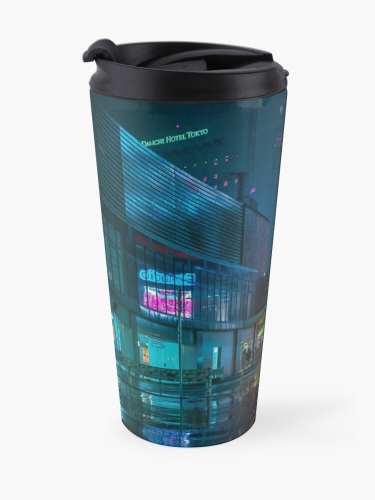 Alternate view of Only the rain Travel Mug