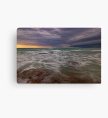gamthumn stormy weather  Canvas Print