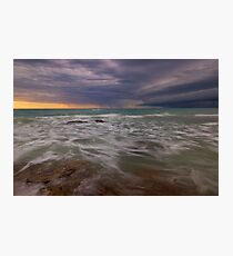 gamthumn stormy weather  Photographic Print