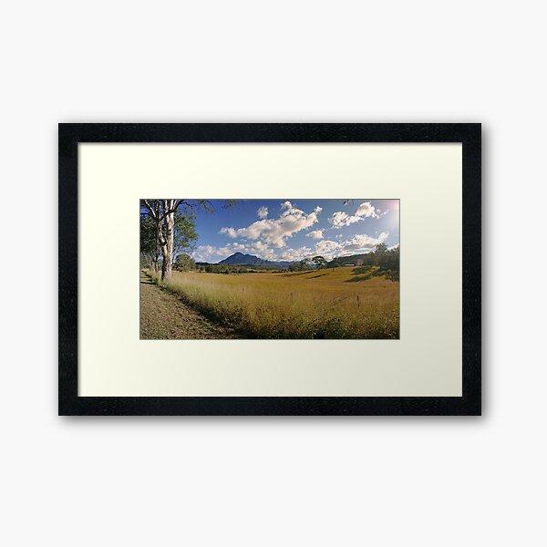 Mt Barney Panorama Framed Art Print