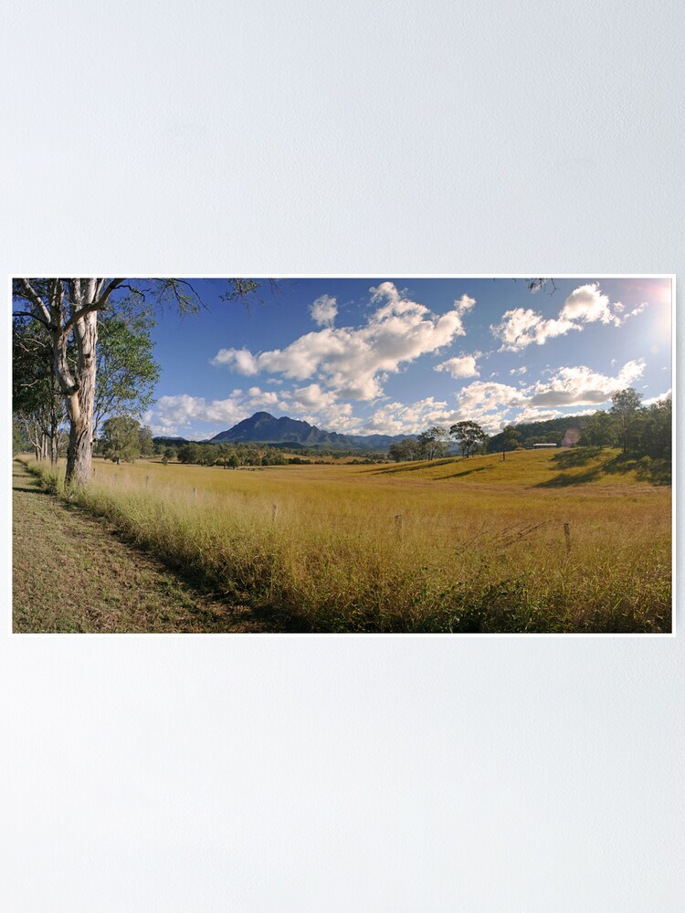 Alternate view of Mt Barney Panorama Poster
