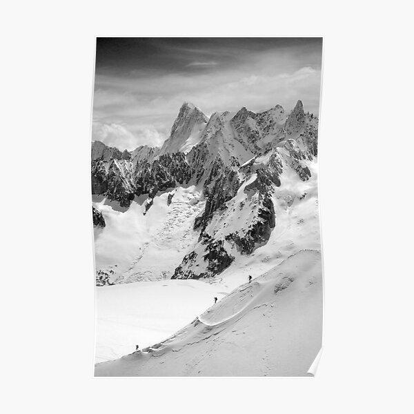 Chamonix Aiguille du Midi Mont Blanc Massif France Poster