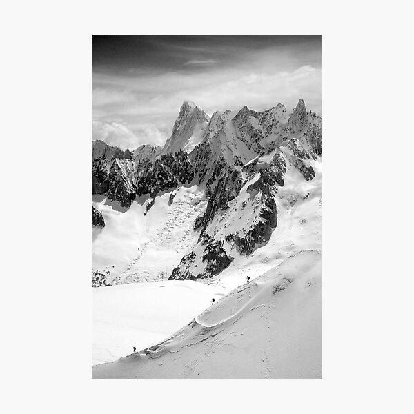 Chamonix Aiguille du Midi Mont Blanc Massif France Photographic Print