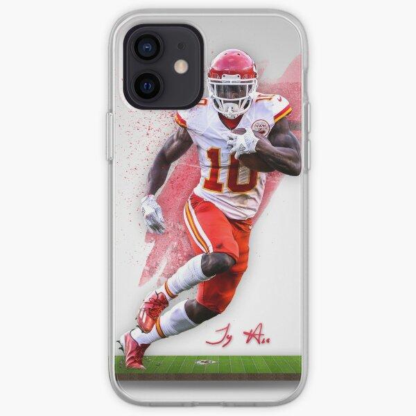 Tyreek Hill Kansas City Sports Art  iPhone Soft Case