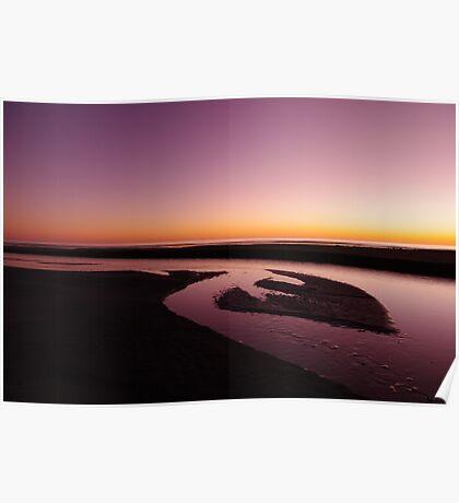 Himitangi Sunset Poster