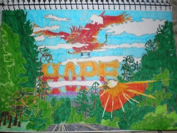 Hope - small scale paper draft by verge