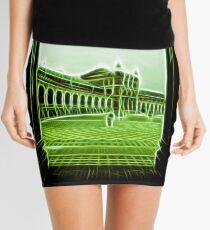 plaza de espana seville green neon lights Mini Skirt