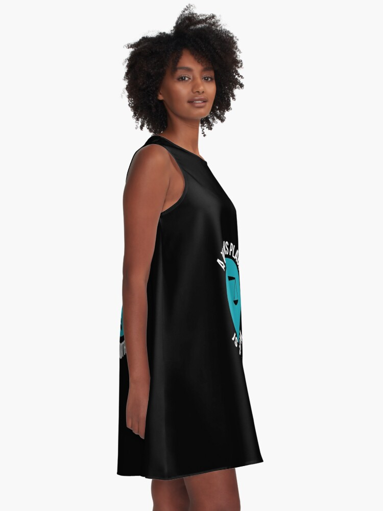 Alternative Ansicht von A Womans Place Is In The Courtroom Shirt Female Lawyer Gift A-Linien Kleid