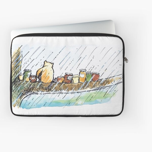 It rained and it rained Laptop Sleeve