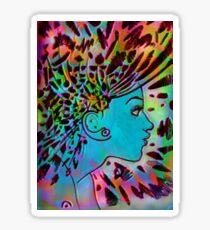 Psychedelic Goddess (Rainbow) Sticker