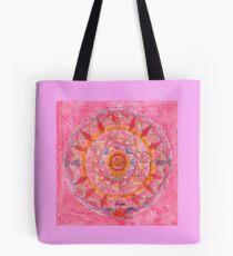 Waage Horoskop Mandala Produkte Tote Bag