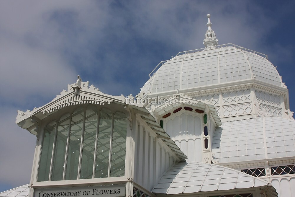 Conservatory of Flowers (detail) by fototaker