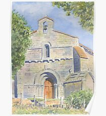 Chapelle des Templiers, Malleyrand, France Poster