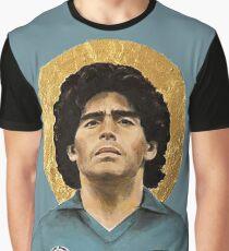 Fußballikone - Diego Maradona - Deisgn Grafik T-Shirt