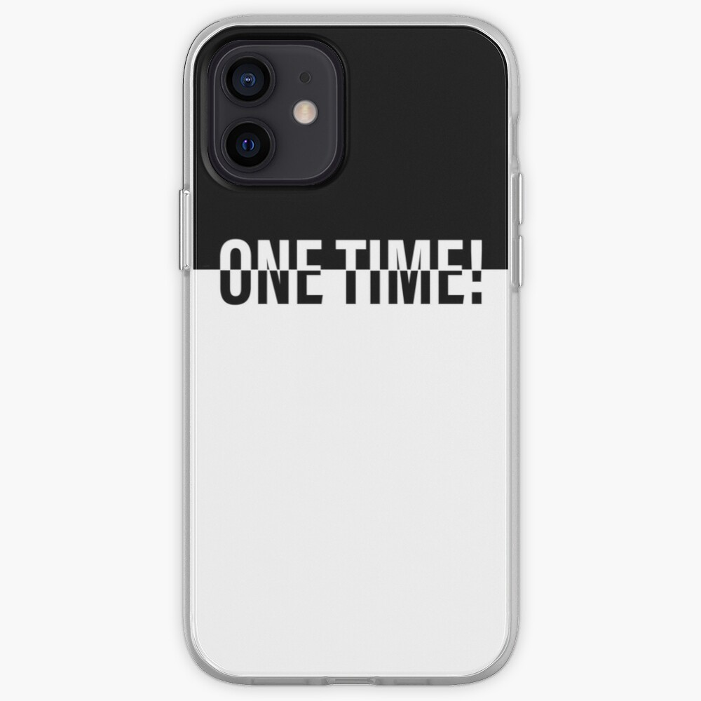 ONE TIME! POKER iPhone Case & Cover