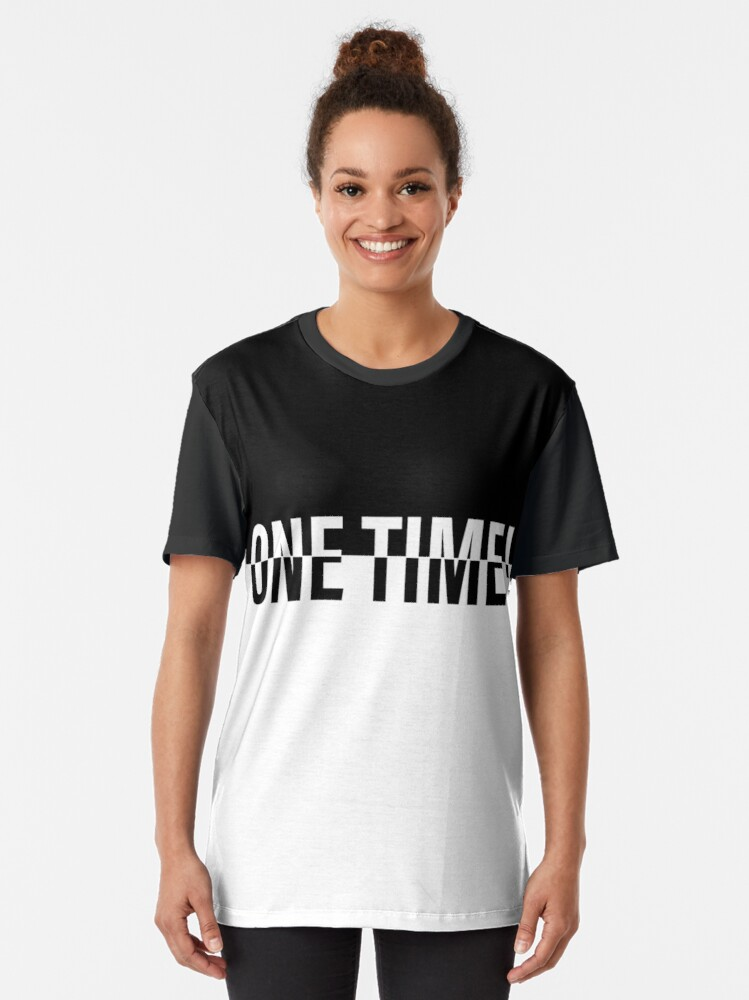 Alternate view of ONE TIME! POKER Graphic T-Shirt