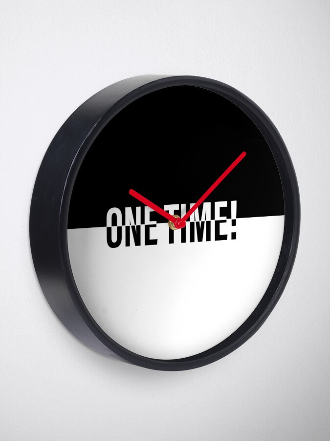 Alternate view of ONE TIME! POKER Clock