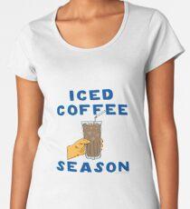 Iced Coffee Season Women's Premium T-Shirt