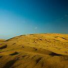 Dunes at Maspalomas by Thomas Tolkien