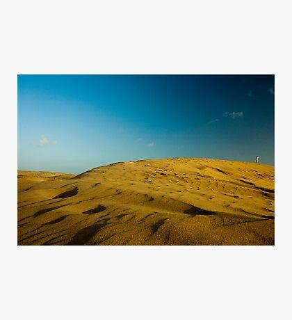 Dunes at Maspalomas Photographic Print