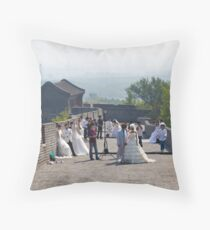 Weddings on the Wall Throw Pillow