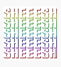 SHEEESH YOUTH WORD 2019 (colored) Photographic Print