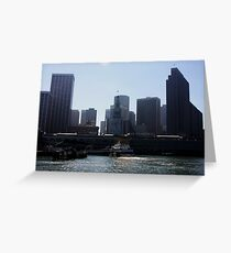 San Francisco Ferry Building Greeting Card