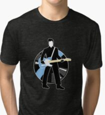 Jack The Axe-pander - Jack White III (Blunderbuss Lightning Edition) Tri-blend T-Shirt