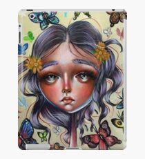 Chrysalis and Butterflies - Pop Surrealism Illustration iPad Case/Skin