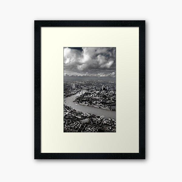 Aerial view of London 3 Framed Art Print