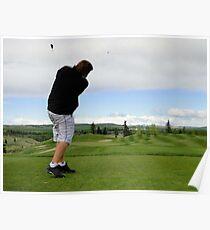 Golf Swing A Poster