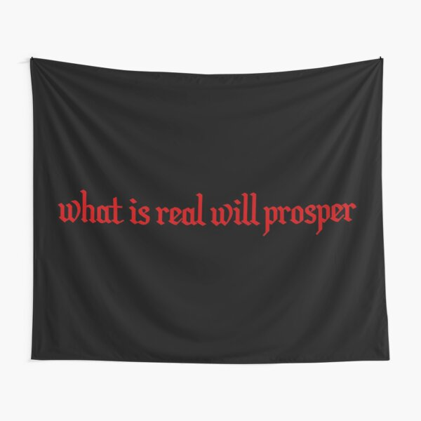 Xxxtentacion what is real will prosper Tapestry