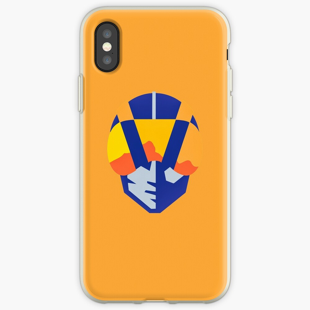 Blue Las Vegas aviators logo iPhone Cases & Covers