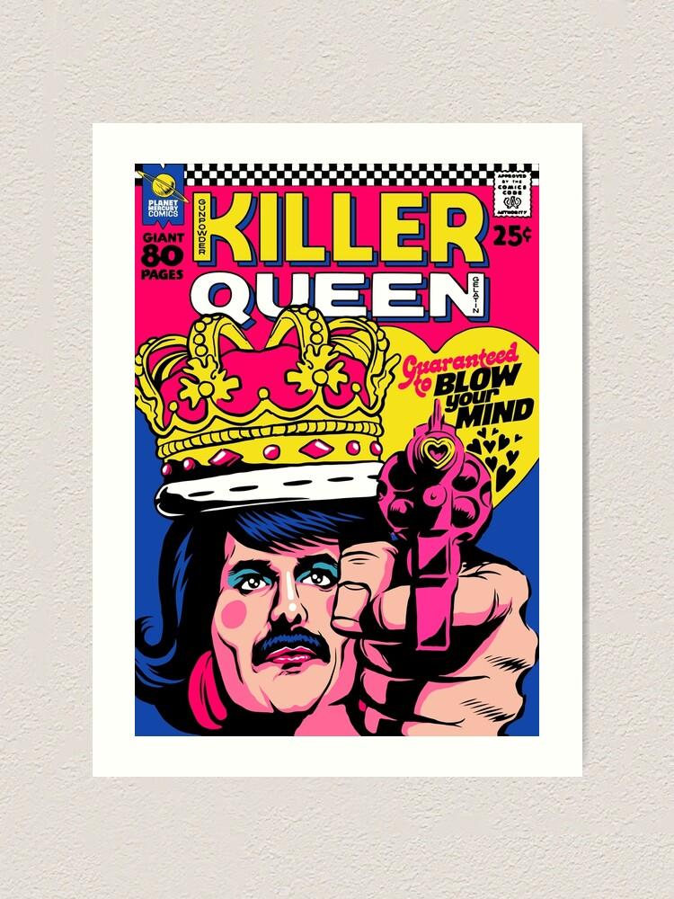 Alternate view of Killer Art Print