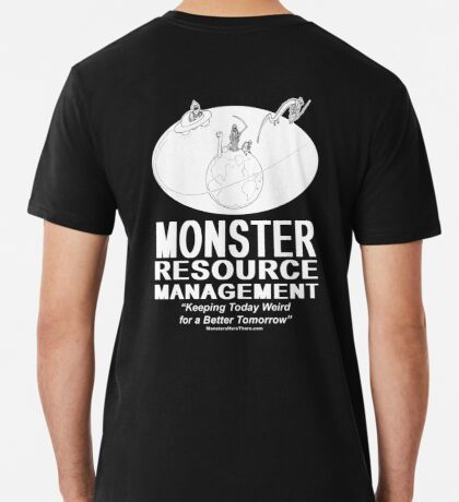 Monster Resource Management Men's Premium T-Shirt