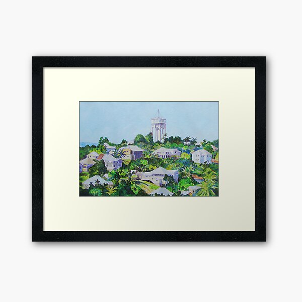 Morning Glow - East Innisfail Framed Art Print