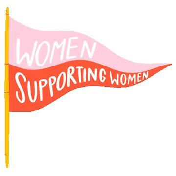 mujeres que apoyan a las mujeres de stickersnstuff