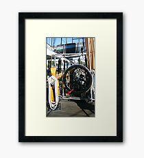 GRINDER Framed Print